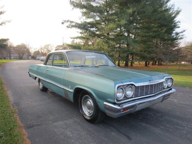 1964 Chevrolet Biscayne 2 door post