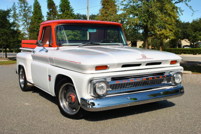 1964 Chevrolet C-10 Custom Stepside 350 V8 Vintage Air Show Winner!