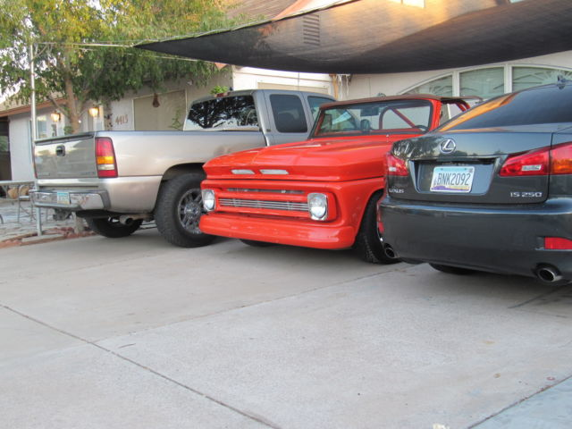 1964 Chevrolet C-10 Short Bed Side Step