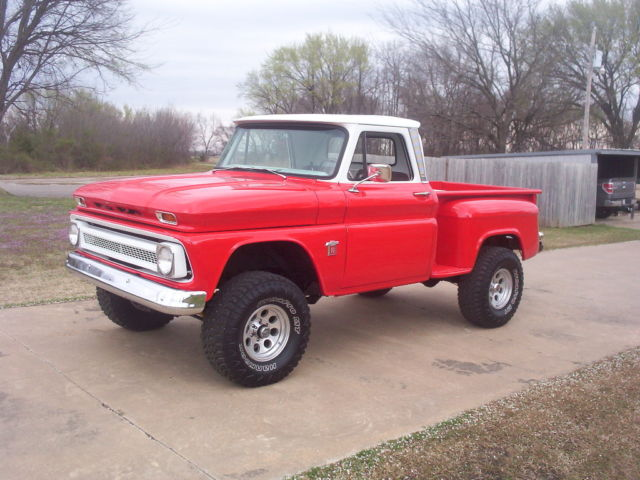 1964 Chevrolet C10 Step Side 4 Wheel Drive 4X4, Frame Off