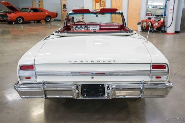 1964 Chevrolet Chevelle Malibu Convertible 283 cid Tri Power