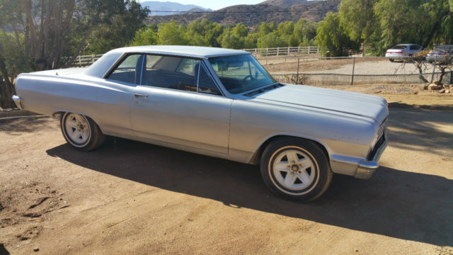 1964 Chevrolet Chevelle True Ss Malibu Classic Muscle Car Project 64