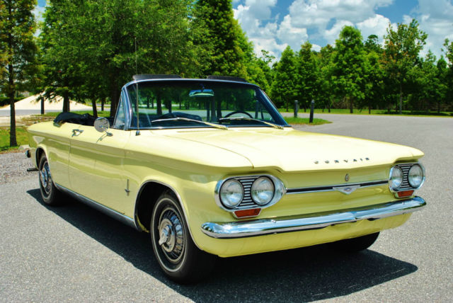 1964 Chevrolet Corvair Convertible Absolutely Beautiful Classic!