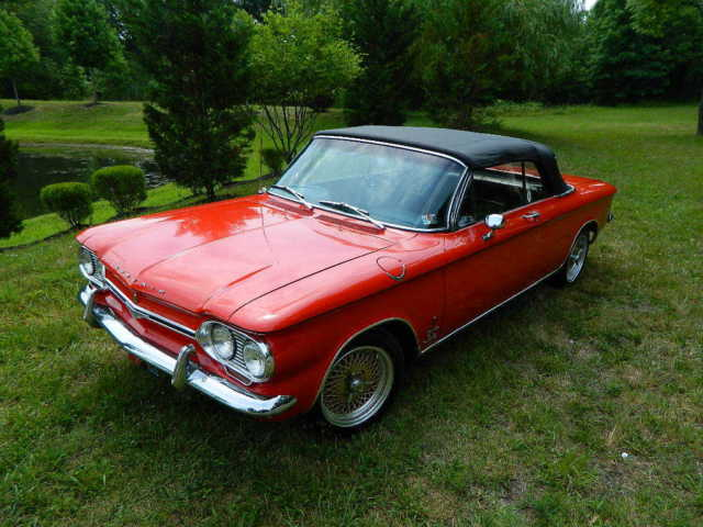 1964 Chevrolet Corvair Monza Spyder TurboCharged Convertible