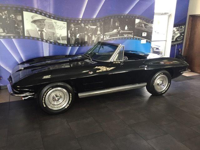 1964 CHEVROLET CORVETTE C2 ROADSTER, VERY NICE BLACK ON