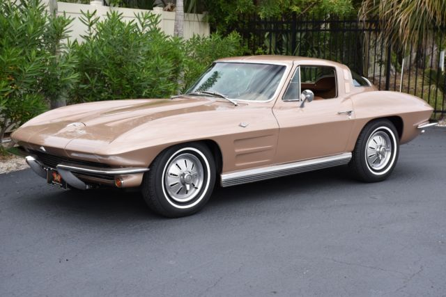 1964 Chevrolet Corvette Factory A/C, PS, PB, PW