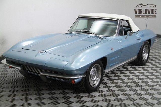 1964 Chevrolet Corvette Frame off. 520 miles! AC! PS! PB! 300 HP! Conv