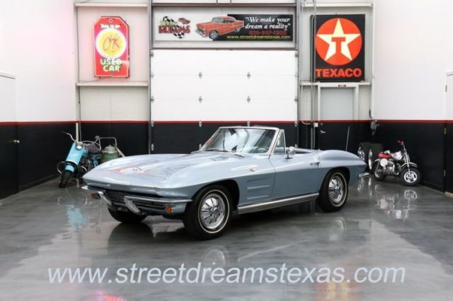 1964 Chevrolet Corvette Stingray #s matching window sticker lots of proven