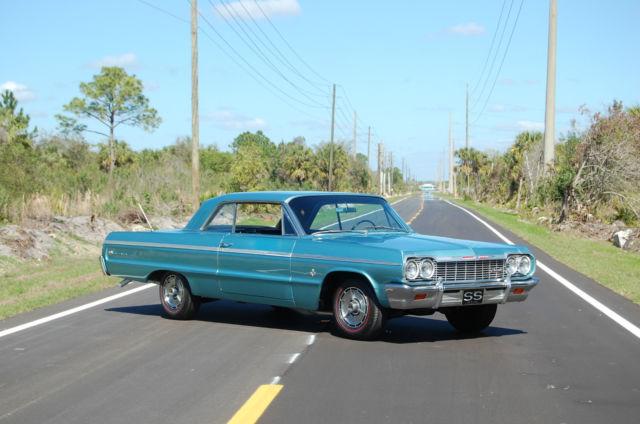 1964 Chevrolet Impala Ss 409 For Sale Photos Technical