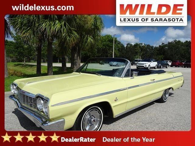 1964 Chevrolet Impala Ss 409 Convertible For Sale Photos