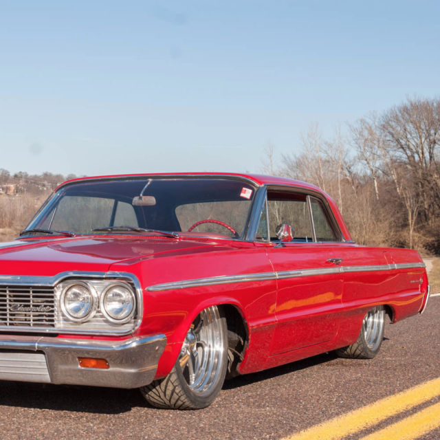 1964 chevrolet impala ss coupe custom air ride suspension for sale photos technical