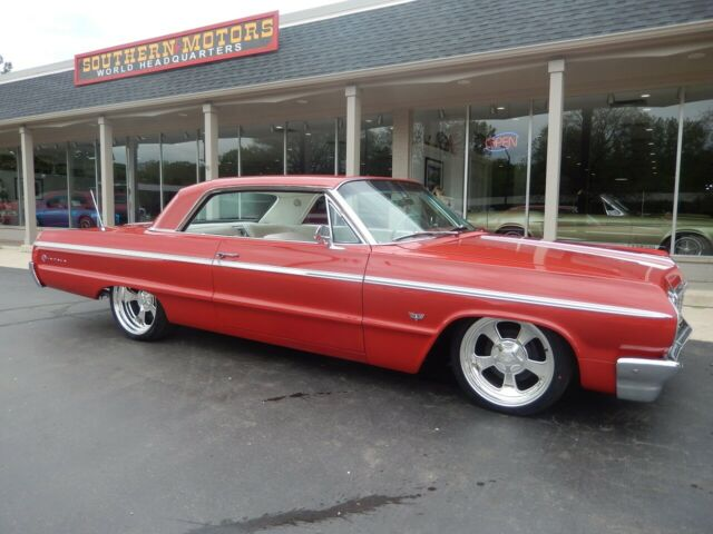 1964 Chevrolet Impala SS Ember red 327 factory A/C