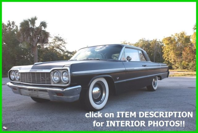 1964 Chevrolet Impala SS MANUAL NUMBERS MATCHING TRUE TEXAS CAR NO RUST!