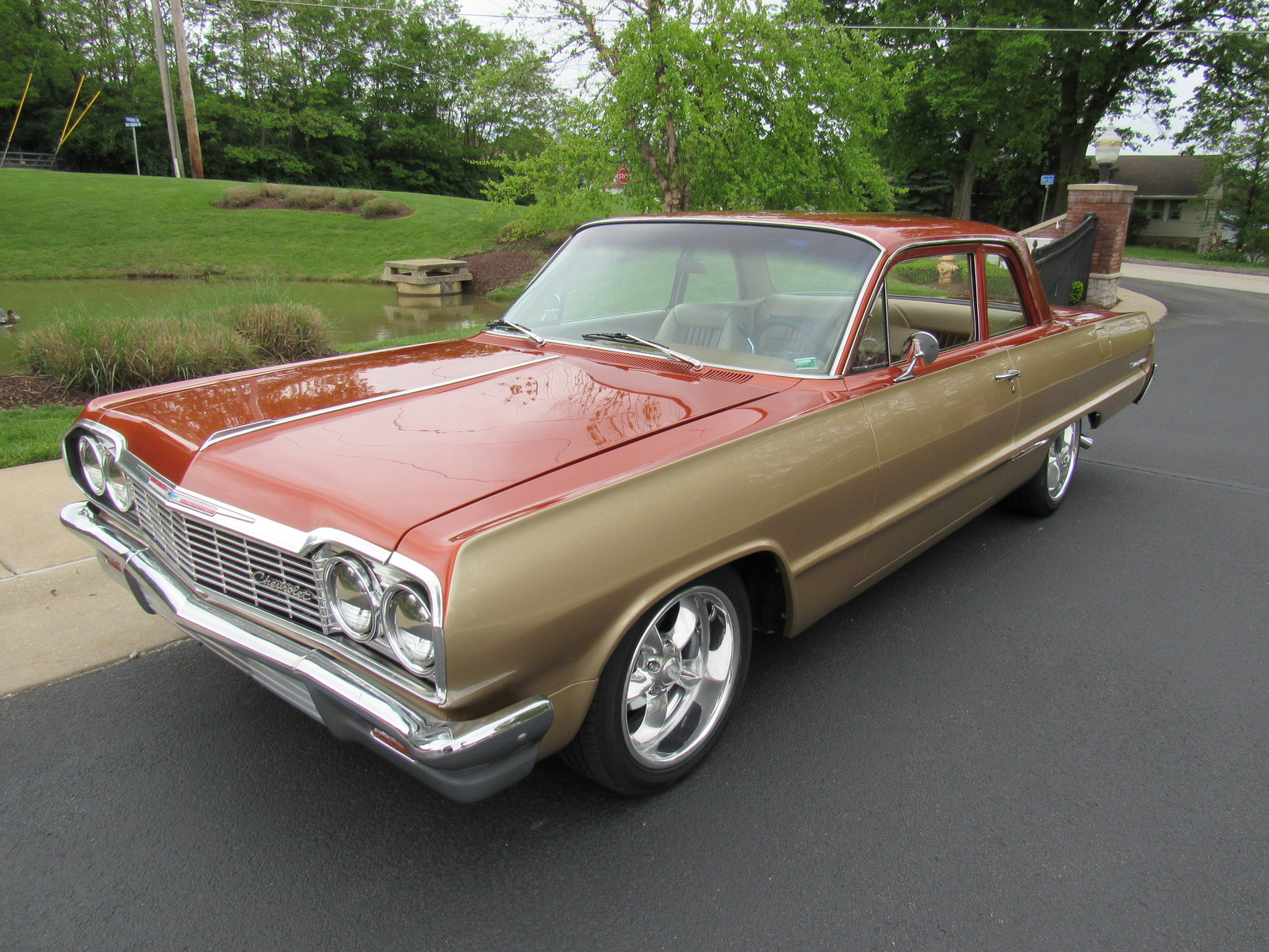 1964 chevy biscayne pro touring cold a c power disc brakes boyd coddingtons nice
