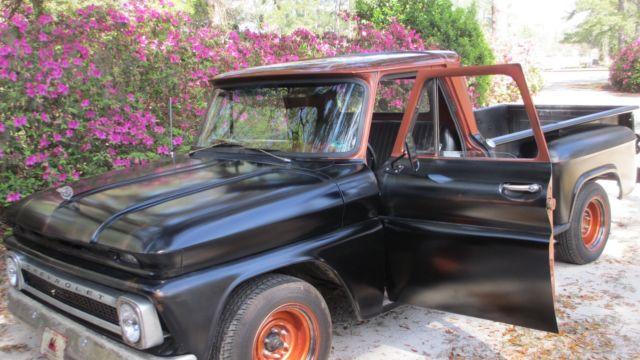 1964 chevy c 10 stepside new crate 283 v 8 engine. Black Bedroom Furniture Sets. Home Design Ideas