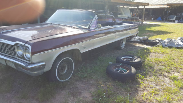 1964 Chevrolet Impala converted to Convertable
