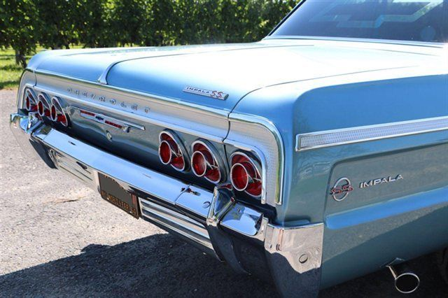 1964 Chevy Impala Ss Ls3 Resto Mod Baby Blue For Sale