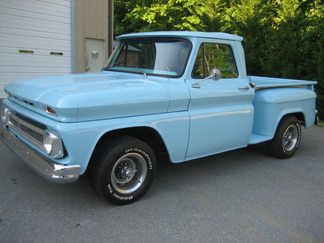 1964 Chevrolet Truck : Chevy shortbed pickup truck stepside hot rod c v