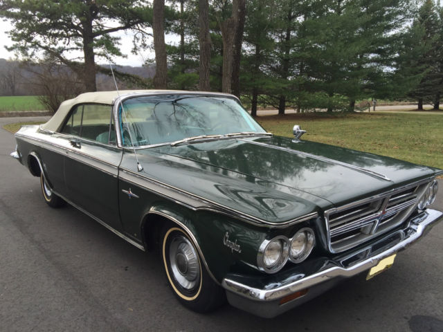 1964 chrysler 300 convertible for sale photos technical - Chrysler 300 red interior for sale ...