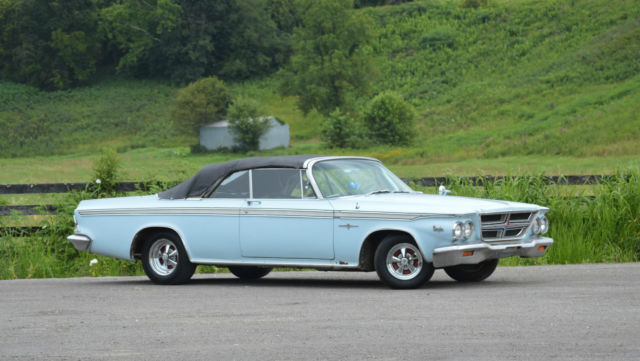1964 Chrysler 300 Convertible 383 Mopar 2 Door Needs