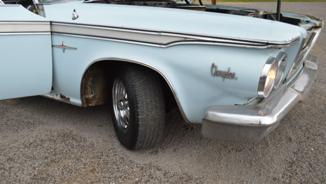 1964 Chrysler 300 Convertible 383 Mopar 2 Door Needs