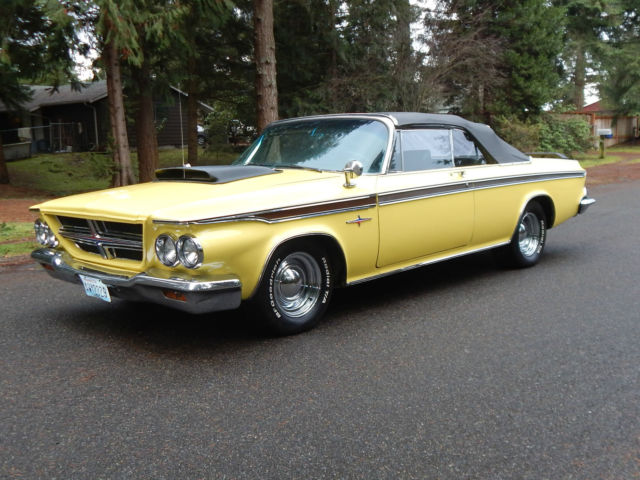 1964 chrysler 300 convertible 440 no reserve extremely rare mopar sell worldwide for sale