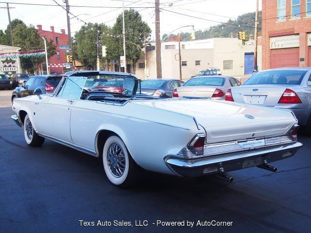 1964 chrysler 300k white with black roof convertible for sale photos. Cars Review. Best American Auto & Cars Review