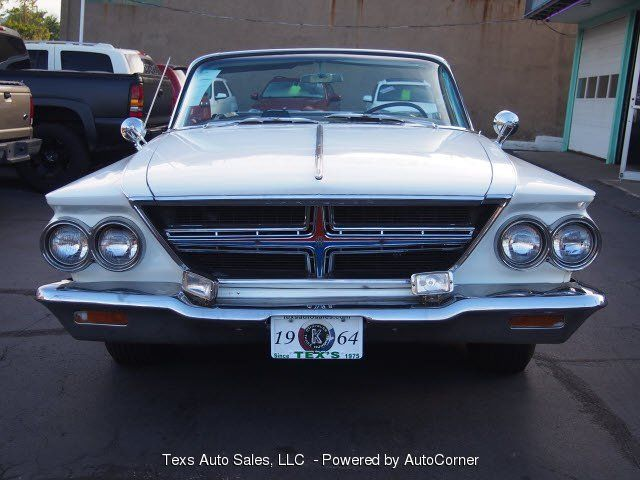 1964 chrysler 300k white with black roof convertible for sale photos technical specifications. Black Bedroom Furniture Sets. Home Design Ideas