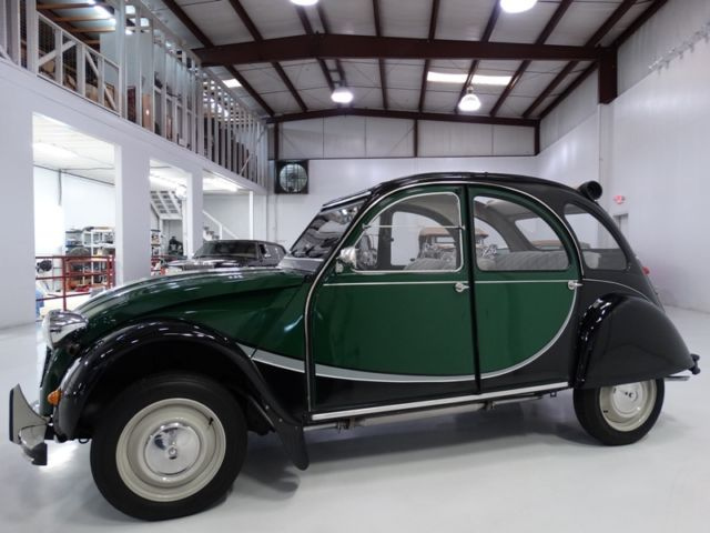 1964 Citroen 2CV SPECTACULAR RESTORATION! ONLY 32,917 ACTUAL MILES!