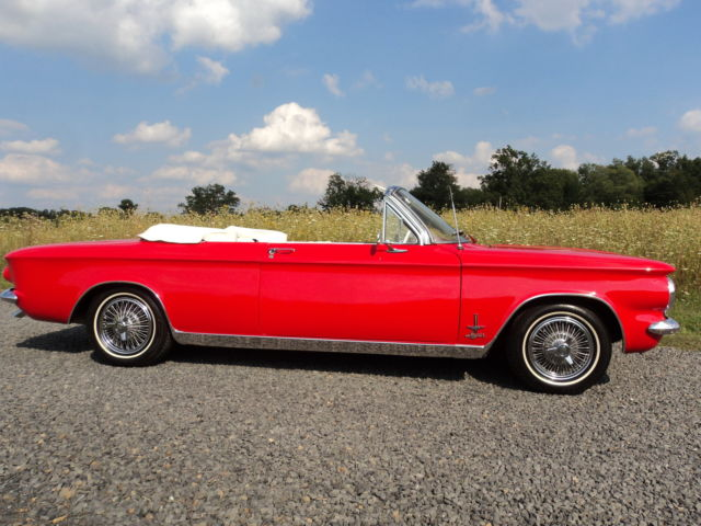 1964 Chevrolet Corvair CORVAIR MONZA TURBO SPYDER CONVERTIBLE
