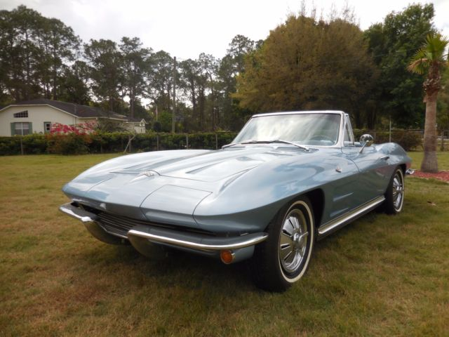 1964 Corvette Convertible Rare Factory Air With Automatic Transmission
