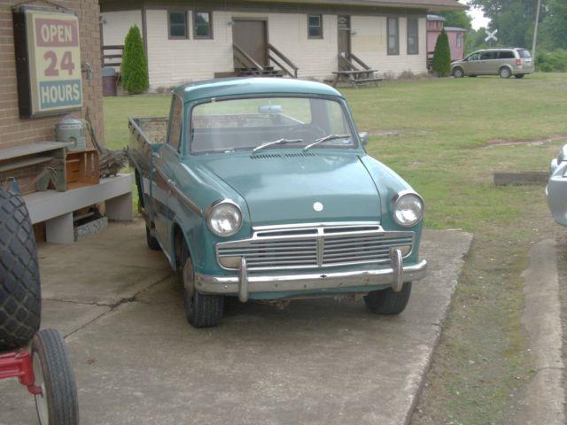1964 Datsun 1200 Pickup Truck Runs Rare Antique Truck For