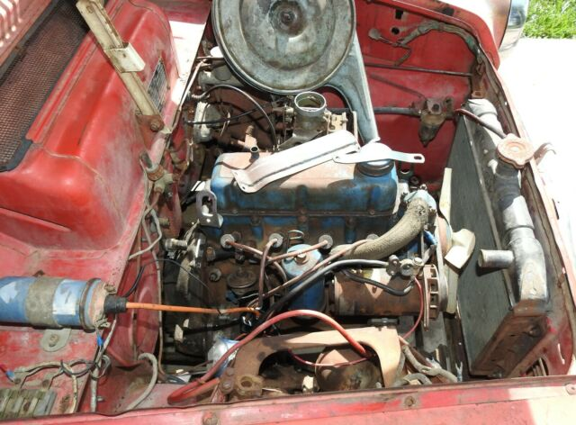 1964 Red Datsun Other NL Cab & Chassis with Red/Cream interior