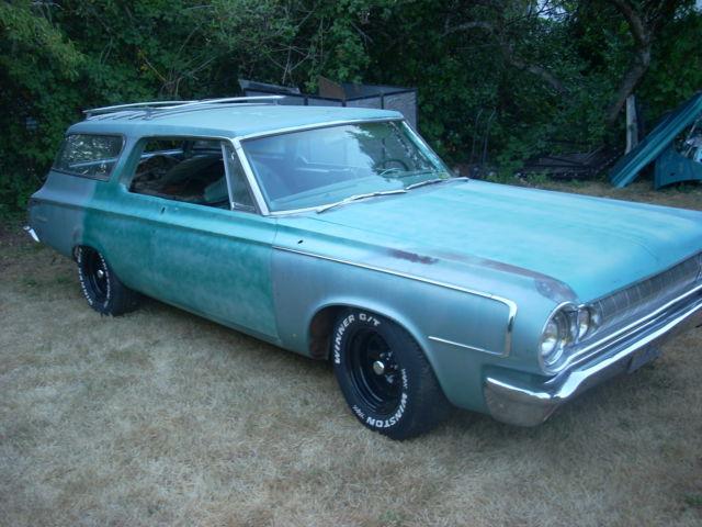 1964 Dodge 330 Coronet Custom Wagon For Sale Photos