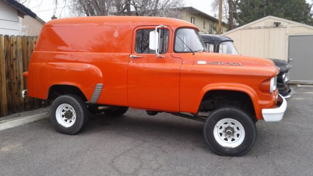 1964 Dodge Power Wagon Town Panel For Sale Photos Technical