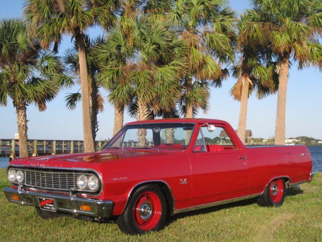 1964 EL CAMINO 396 V8 BIG BLOCK AIR DISC BRAKES HOT STREET RAT ROD TRUCK SLEEPER