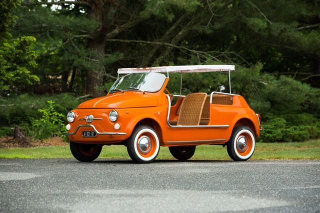 1964 Fiat 500 Jolly By Ghia For Sale Photos Technical
