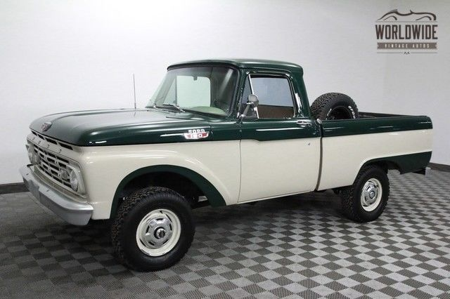 1964 Ford F-100 1 of 330 Shortbed V8 4x4 Napco Spicer Rare!