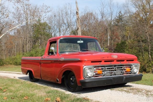 1964 ford f100 air ride cummins for sale photos technical specifications description. Black Bedroom Furniture Sets. Home Design Ideas