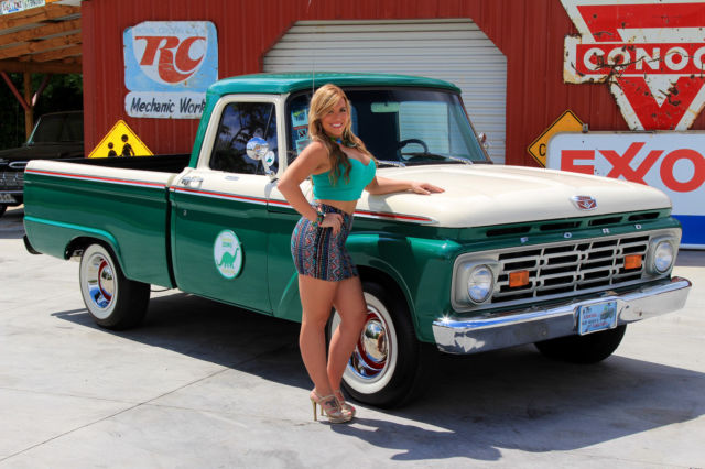 1964 Ford F100 Pick Up Free Shipping 312 3 Speed Manual