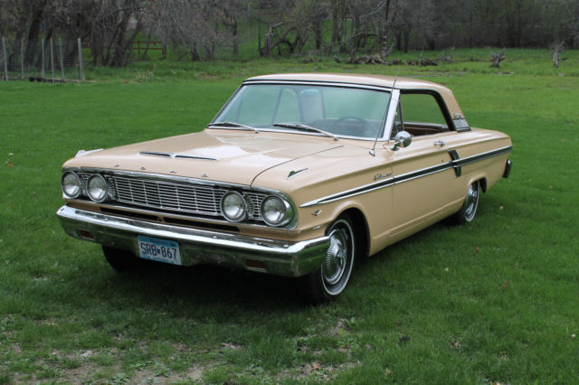 1964 Ford Fairlane 2 door sports coupe