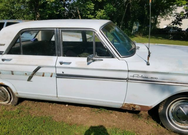 1964 Ford Fairlane 500 ratrod 4 door parts donor or project