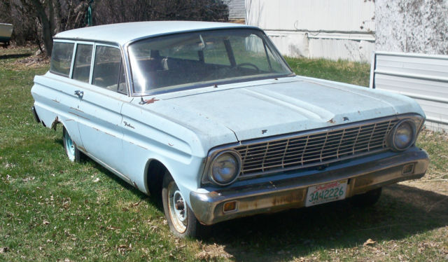 1964 ford falcon 2 door station wagon 6 cyl 3 spd manual great 1964 ford falcon 2 door station wagon 6 cyl 3 spd manual great project car needs sciox Images