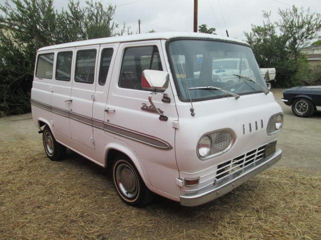 1964 ford falcon club wagon econoline california black