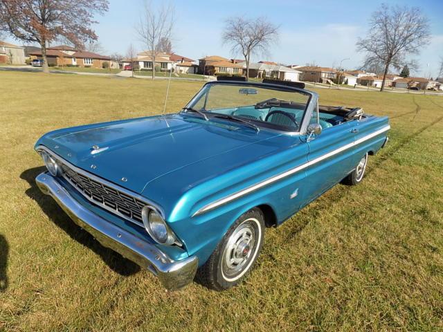 1964 ford falcon futura convertible / 2980 produced / 71,235