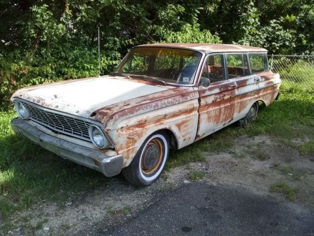 1a215044 1964 Ford Falcon Wagon Patina V8 station wagon Barn Find for sale ...