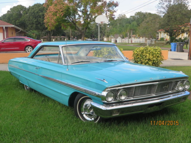 1964 Ford Galaxie 500 2 Door Hardtop   Fantastic Condition   for