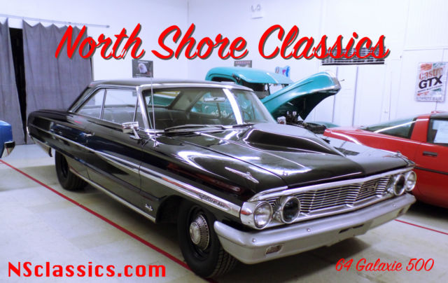 1964 Ford Galaxie 500-BIG BLOCK 390 WITH 4 SPEED-FORD 9