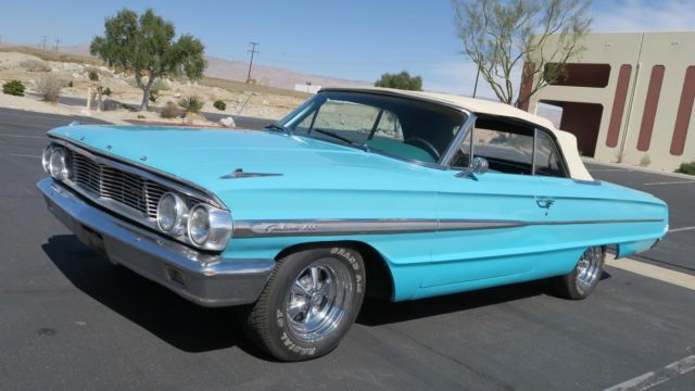 1964 Ford Galaxie 500 COVERTIBLE 289 V8 P/S POWER TOP TEXAS CAR!