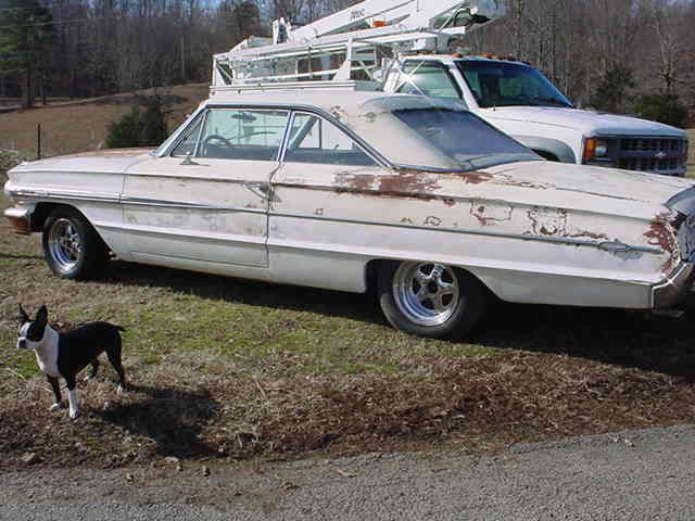 1964 Ford Galaxie 2-Door XL with Continental Package